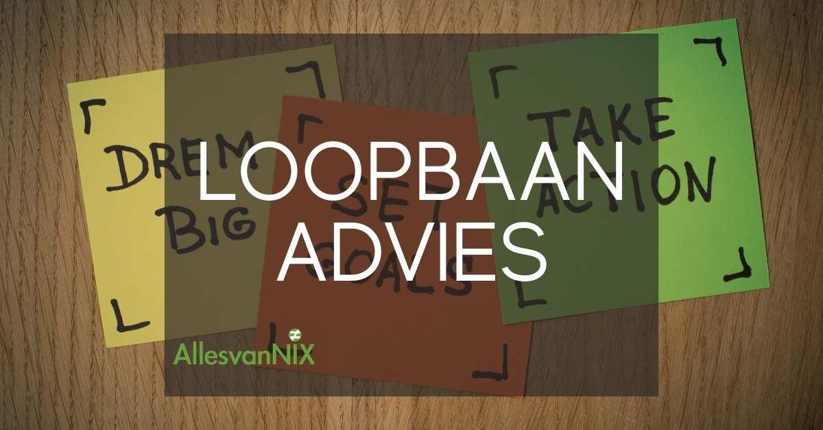 Featured image loopbaanadvies AllesvanNIX